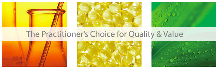 The Practitioner's Choice for Quality & Value