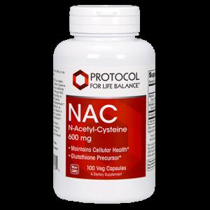NAC (N-Acetyl-Cysteine), 600 mg