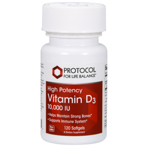 Vitamin D3 (High Potency) 10,000 IU (250 mcg)