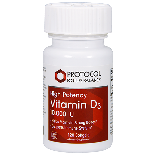 Vitamin D3 (High Potency), 10,000 IU