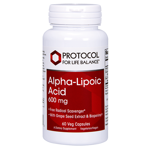 Alpha-Lipoic Acid, 600 mg