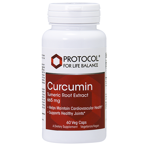 Curcumin (Turmeric Root Extract), 665 mg