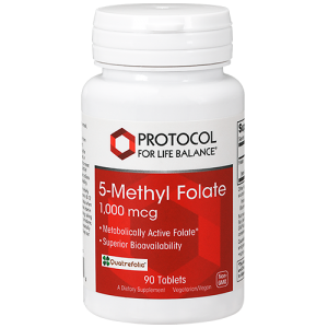 5-Methyl Folate 1,000 mcg