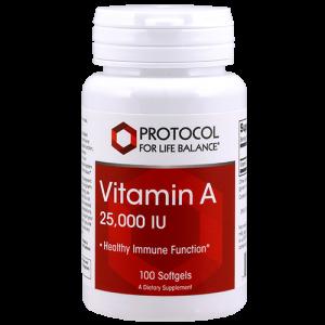 Vitamin A 25,000 IU
