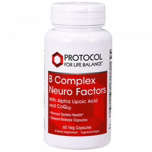 B Complex Neuro Factors with Alpha Lipoic Acid and CoQ10