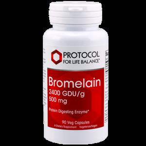 Bromelain 2,400 GDU/g, 500 mg