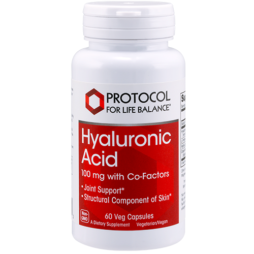 Hyaluronic Acid, 100 mg with Co-Factors