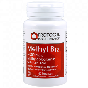 Methyl B12 (Methylcobalamin), 5,000 mcg