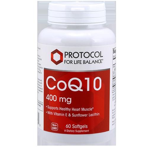CoQ10, 400 mg