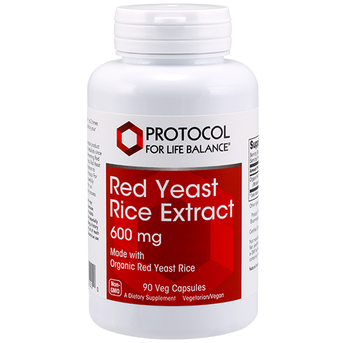 Red Yeast Rice Extract, 600 mg