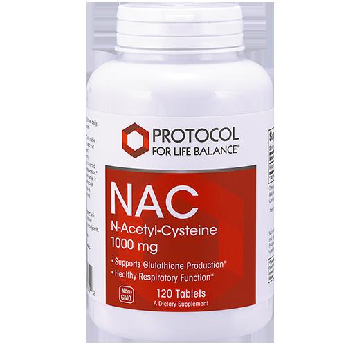 NAC (N-Acetyl-Cysteine), 1000 mg