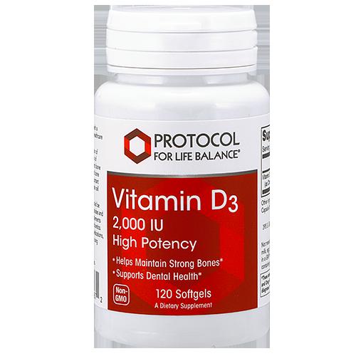 Vitamin D3 1,000 IU