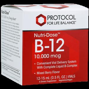 Nutri-Dose™ B-12 10,000 mcg