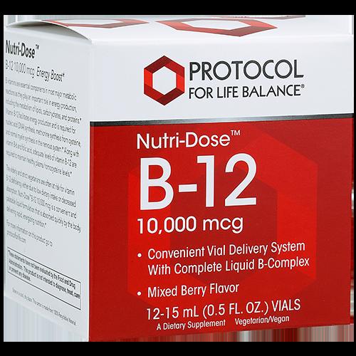 Nutri-Dose™ B-12, 10,000 mcg