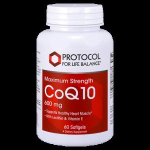CoQ10, 600 mg (Maximum Strength)