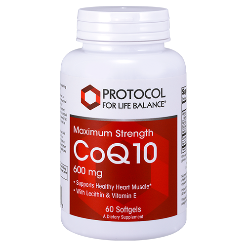 CoQ10, 600 mg (Maximum Strength)
