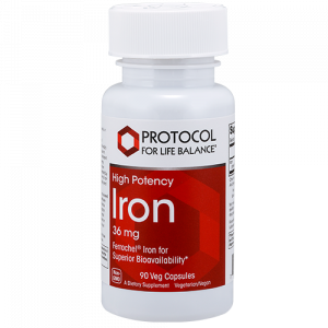 Iron (High Potency), 36 mg
