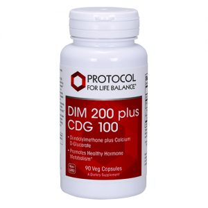DIM 200 plus CDG 100 200 mg DIM + 100 mg Calcium D-Glucarate