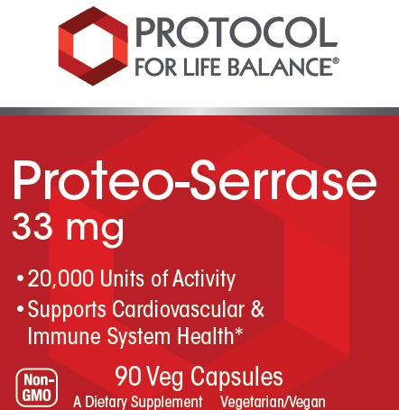 Serrazimes®, 33 mg