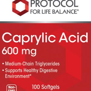 Caprylic Acid 600 mg