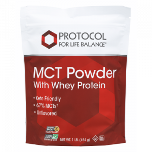 MCT Powder with whey protein