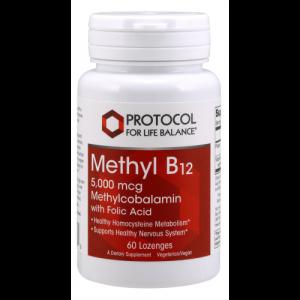 Methyl B12 5,000 mcg - Methylcobalamin